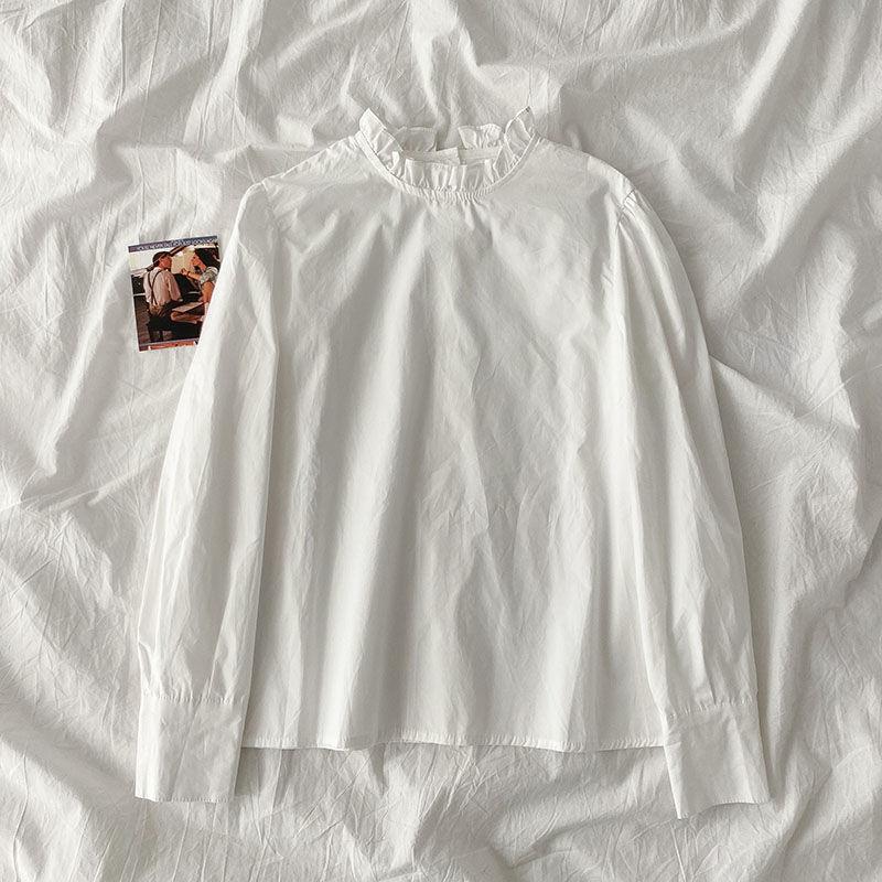 ホワイト/シャツ/単品